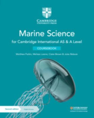 Cambridge International AS and a Level Marine Science Coursebook with Digital Access (2 Years)