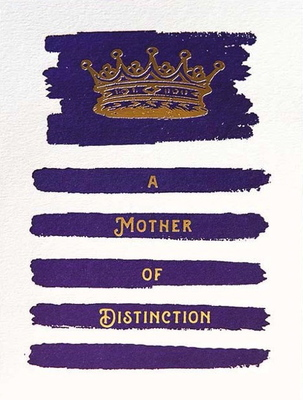 Card - Mother of Distinction QP382