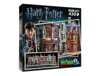 Diagon Alley 450pce 3D Puzzle - WREBBIT HARRY POTTER