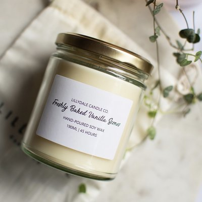 Lillydale Candle Co - Freshly Baked Vanilla Scone