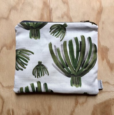 Jak & Co Small Zip Clutch - Greenery