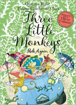 Three Little Monkeys Ride Again: Book and CD