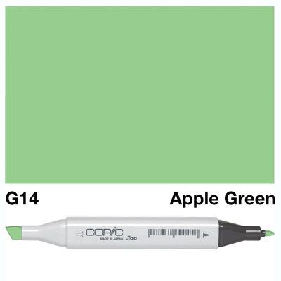 Copic Marker G14 - Apple Green