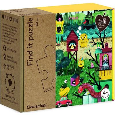 Come into My Garden: Find it Puzzle 60 pc + cards