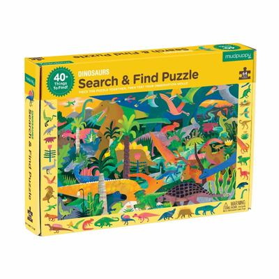 Dinosaurs Search and Find Jigsaw Puzzle 64 Pieces