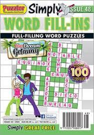 Puzzler Simply Word Fill-Ins