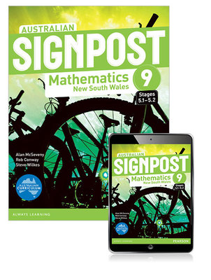 Australian Signpost Mathematics New South Wales 9 (5. 1-5. 2) Student Book with EBook