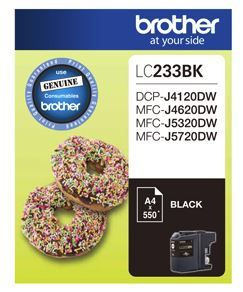 Brother LC233BK Black Ink Cartridge