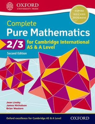 Complete Pure Mathematics 2 and 3 for Cambridge International AS and a Level
