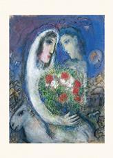 Card - Chagall Le Mariage MC374