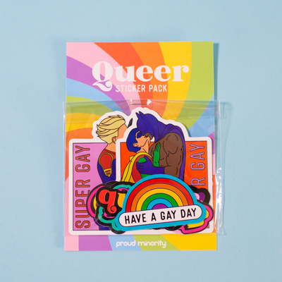 Sticker Pack - Queer (Proud Minority)