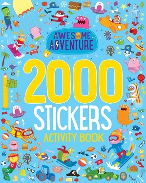 Awesome Adventure 2000 Stickers Activity Book