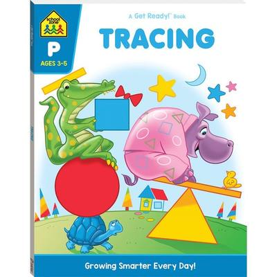 Tracing: Get Ready (School Zone)