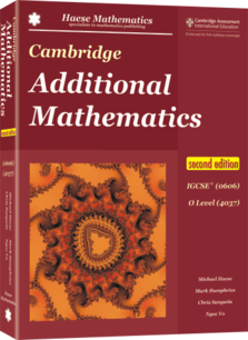 Cambridge Additional Mathematics IGCSE® (0606) O Level (4037) 2nd edition