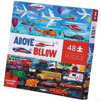 Things That Go (Above + Below) 48pc Floor Puzzle