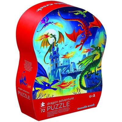 Dragon Adventure 72pc Puzzle