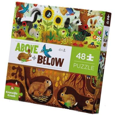 Backyard Discovery (Above + Below) 48pc Floor Jigsaw Puzzle