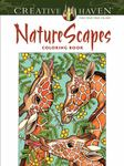 Creative Haven Nature Scapes Coloring Book
