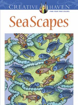 Creative Haven Sea Scapes Coloring Book