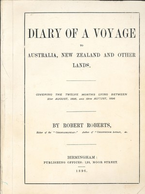 Diary of a Voyage to Australia, New Zealand and Other Lands