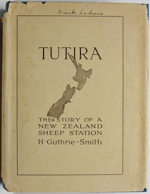 Tutira The Story of a New Zealand Sheep Station