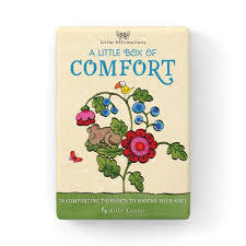 A Little Box of Comfort - 24 Affirmation Cards