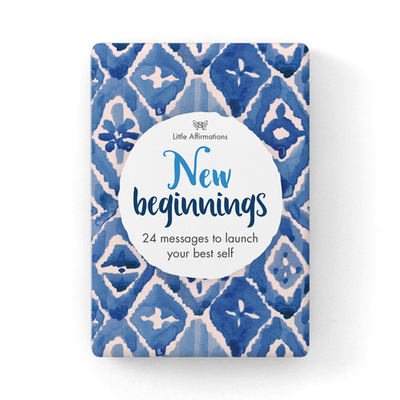 New Beginnings - 24 Affirmation Cards