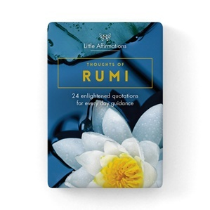 Thoughts of Rumi: 24 enlightened quotations for everyday guidance (24 Affirmation Cards)