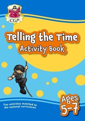 Telling the Time Home Learning Activity Book – Age