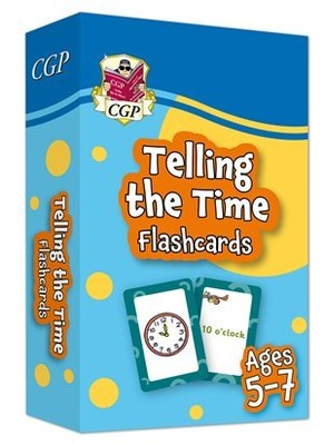 Telling the Time Home Learning Flash Cards Ages 5