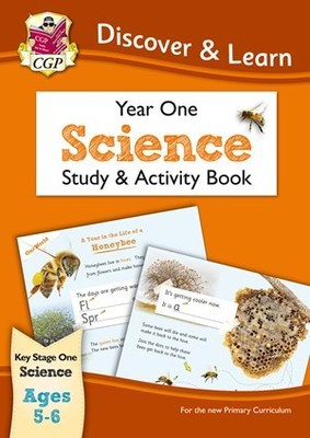 KS1 Discover & Learn Science Study & Activity Book  Ages 5-6