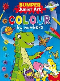 BUMPER COLOURING BY NUMBERS