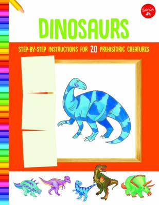 How to Draw Dinosaurs - Step-By-step Instructions for 20 Prehistoric Creatures