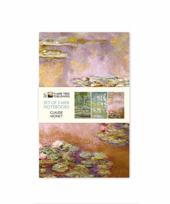 Claude Monet Mini Notebook Collection (set of 3)