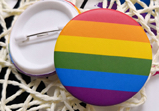 Badge – Rainbow Pride (1.75 in)