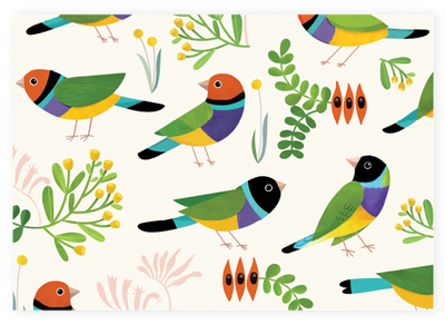 Wrapping Paper Wrens