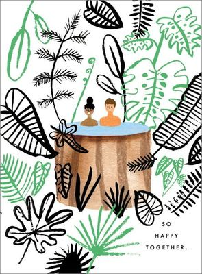 So Happy Together - card - Hot Tub in Paradise