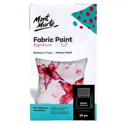 Signature Fabric Paints 20pc x 20ml (0.7oz) PMHS0077