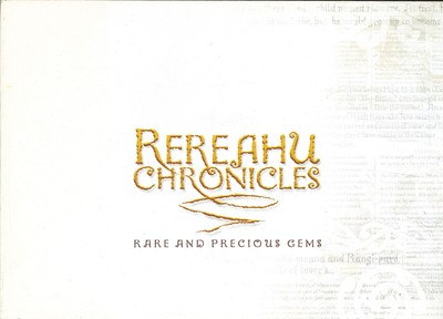 Rereahu Chronicles - Rare and Precious Gems