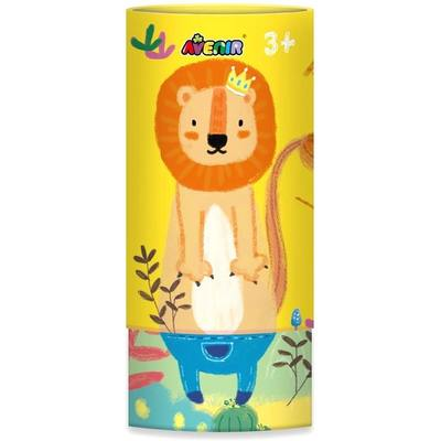 Lion Silky Crayons Tube