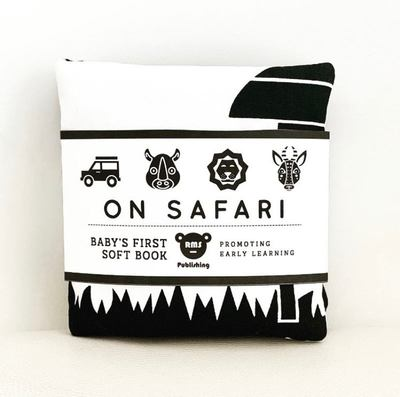 On Safari (B&W Cloth Book)