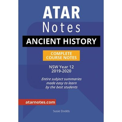 Large year 12 ancient history notes