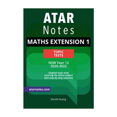 HSC Year 12 Mathematics Extension 1 Topic Tests