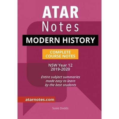 Large year 12 modern history notes