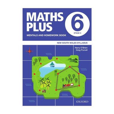 Maths Plus NSW Syllabus Mentals and Homework Book 6 2020
