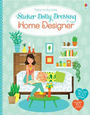 Fashion Designer: Home Designer (Usborne Sticker Dolly Dressing)