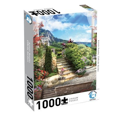 Large 9350375008196 puzzlers world artistic cliffside garden 400x400