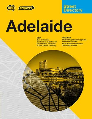 Adelaide Compact Street Directory 2021 12th Ed