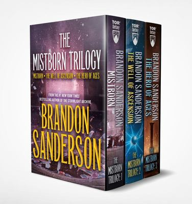 Mistborn Boxed Set I - Mistborn, the Well of Ascension, the Hero of Ages