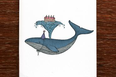 The Nonsense Maker - Birthday Whale